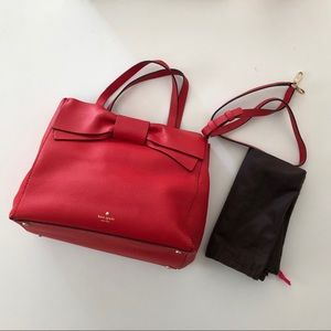 NWOT Red bow Kate Spade